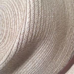 29e80b603dbf Sunbody Accessories - Tear Drop Guatemalan Palm Leaf Straw Fedora Hat